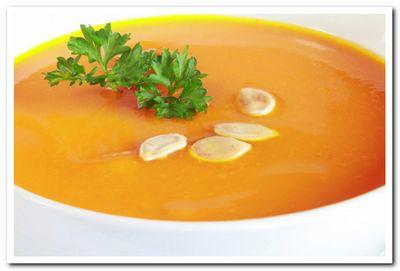 рецепт тыквенного крем супа со сливками
