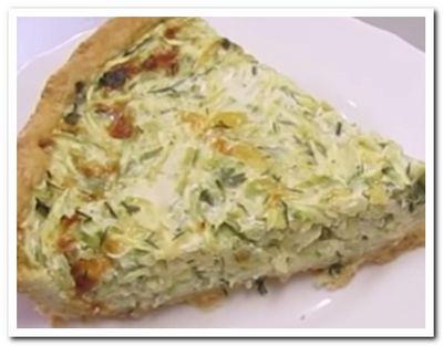 пирог из кабачков рецепт