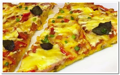 пицца на батоне рецепт