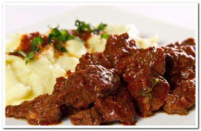 рецепт подливы из говядины