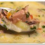 Готовим вкусный рыбный супчик из горбуши