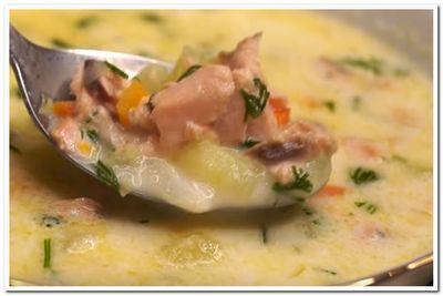 рыбный суп с горбушей рецепт