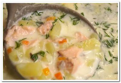 рецепт рыбного супа с горбушей