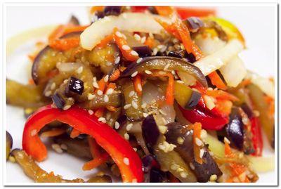 баклажаны по корейски рецепт