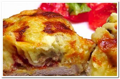 рецепт свинины в духовке под шубой