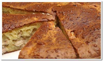 пирог с курицей и картошкой в духовке рецепт