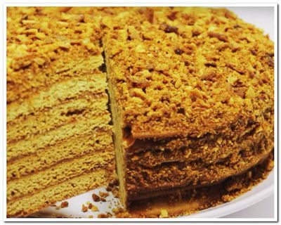 торт медовый рецепт в домашних условиях
