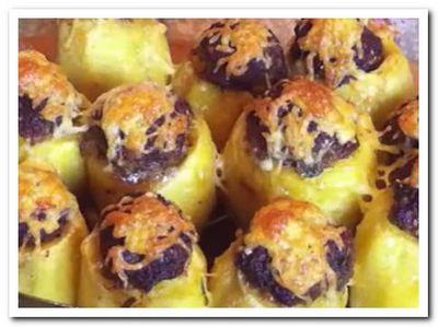 рецепт фаршированного картофеля в духовке