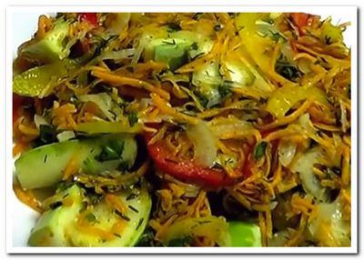кабачки по-корейски рецепт