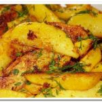 Вкусная и ароматная деревенская картошка в духовке
