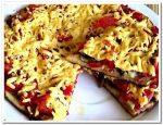 Рецепт вкусной и быстрой пиццы на сковороде