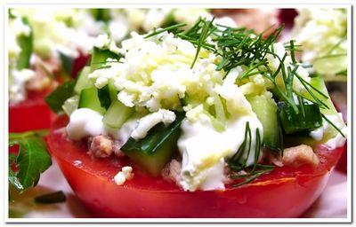 рецепт помидоров под шубой