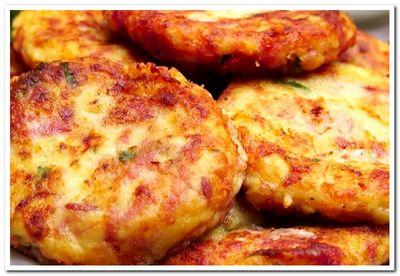 рецепт картофельных биточков