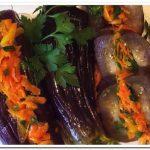 Как приготовить маринованные баклажаны с морковью и чесноком