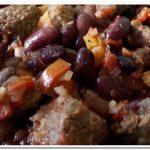 Готовим фасоль с мясом, тушеную с овощами