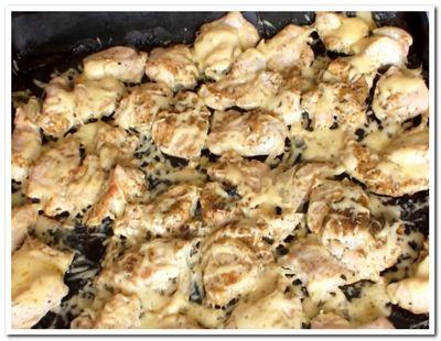 куриная грудка с сыром запеченная в духовке