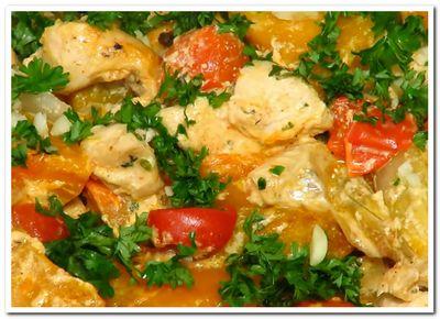 курица с тыквой рецепт запеченный в духовке