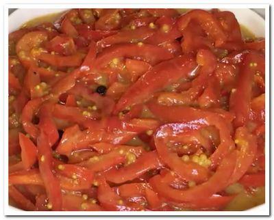 маринованный сладкий перец