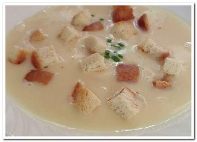 рецепт картофельного супа пюре