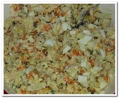 салат из отварной рыбы рецепт