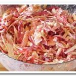 Очень простой, но вкусный салат «Красное море»