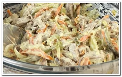 салат обжорка с фото классический рецепт