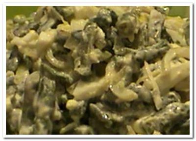 салат из стручковой фасоли, рецепт