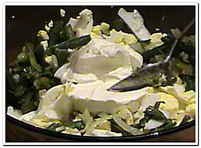 рецепт салата из зеленой фасоли