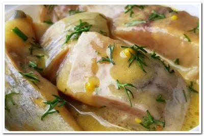 рецепт селедки в горчичном соусе