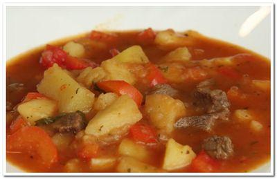 суп-гуляш из говядины рецепт приготовления