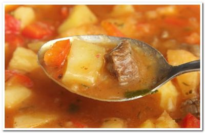 как приготовить суп гуляш с говядиной