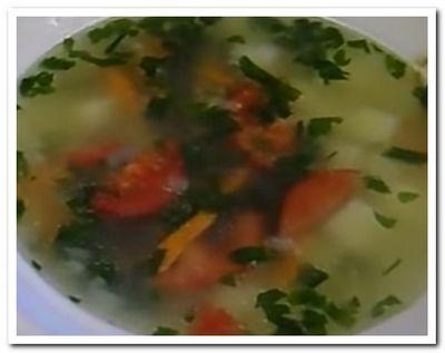 Суп из шпрот рецепт