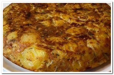 рецепт испанской тортильи