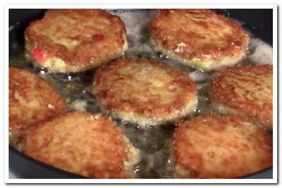 рецепт крабовых котлет без сыра