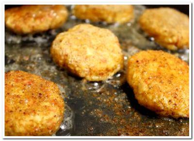 рецепт котлет с крабовыми палочками с сыром