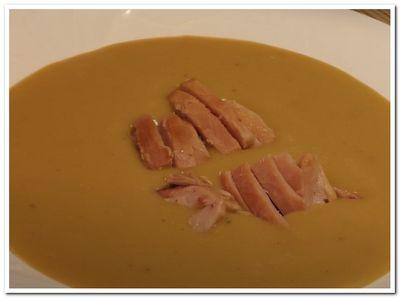 как приготовить гороховый крем суп с копченостями