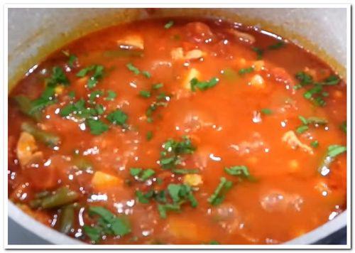 мексиканский густой суп рецепт с курицей