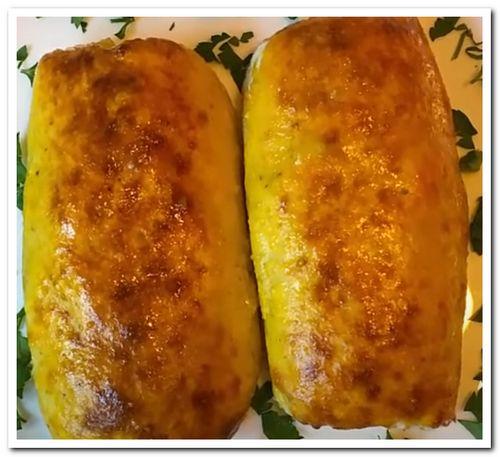 рецепт картофельных рулетов с фаршем