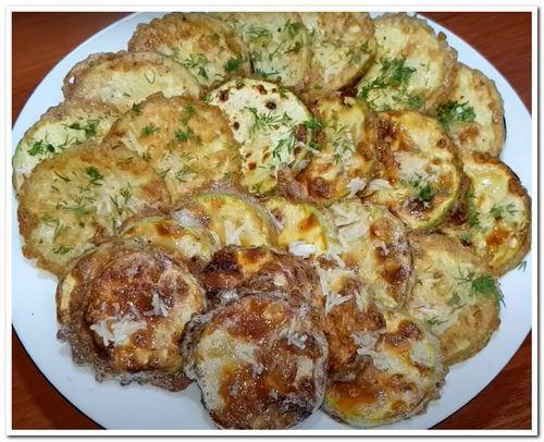 рецепт кабачков жареных на сковороде
