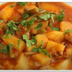 Отличное и сытное блюдо – говядина тушеная с картошкой