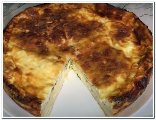 пирог из лаваша с сыром и моцареллой